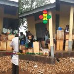 Watch Video: Rainfall Left Free SHS Students Stranded Outside