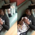 John Dumelo Showcases His New Baby Boy