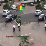 Watch Video: Medikal Spraying Dollar Bills on the University of Ghana Campus