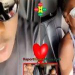 Watch Video: Medikal Chilling With His New Girlfriend Fella Makafui
